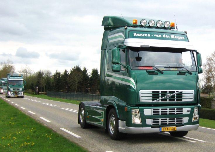2007 Volvo Fh  truck. Hansen-van der Wegen.