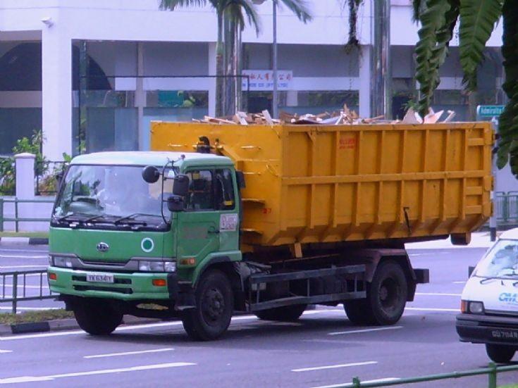Nissan Diesel UD Condor PK210 Hook Lift Truck 800 Super Waste Management Pte Ltd