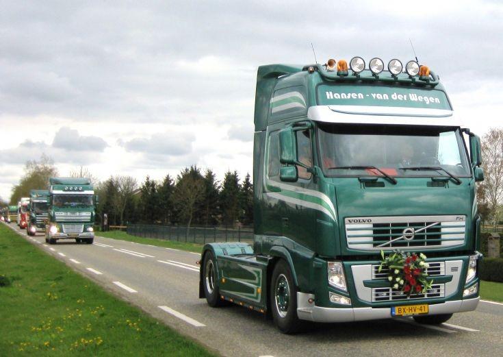 2010 Volvo FH truck. Hansen-van der Wegen.