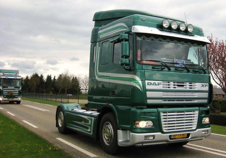 2005 DAF XF Truck. Hansen-van der Wegen.
