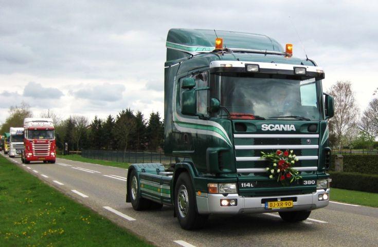 2001 Scania Truck. Hansen-van der Wegen.