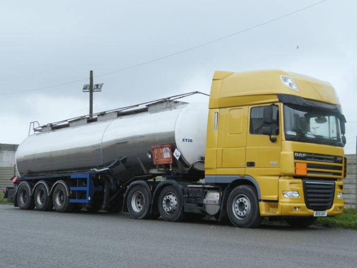DAF Superspace cab 510 tanker