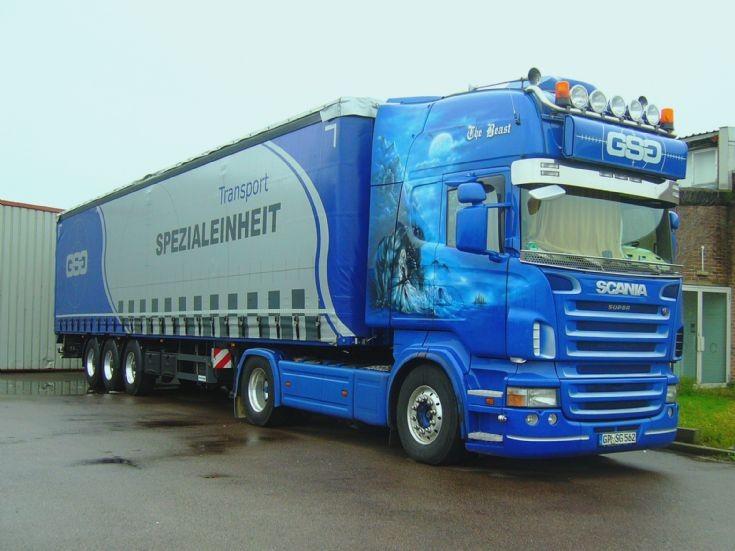 Scania R520 Topline   GP-SG-562
