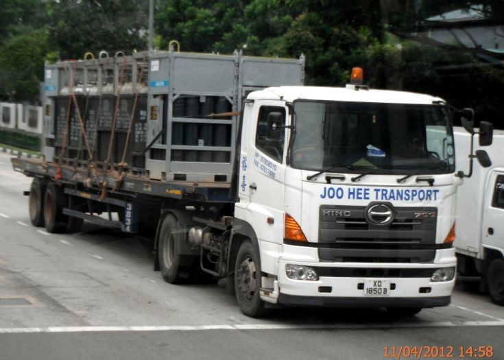 Hino Profia 700 SH Series Tractor Joo Hee Transport Engineering Construction Pte Ltd