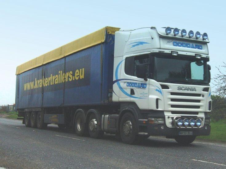 Scania Topline lorry of Goddard