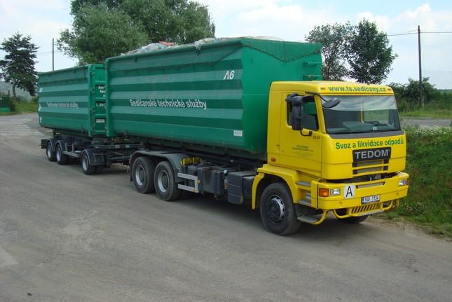 Tedom truck