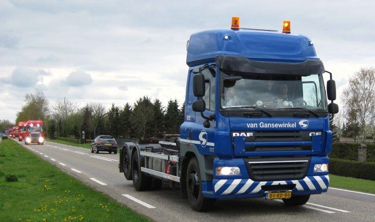 2009 DAF CF Truck