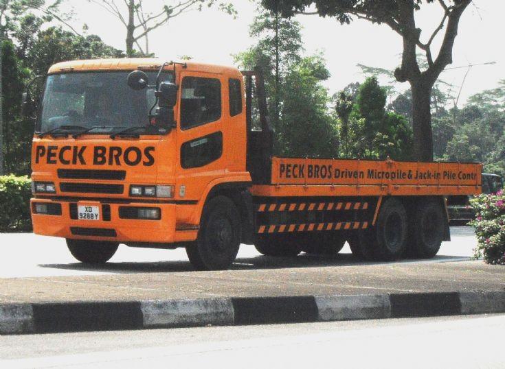 Mitsubishi Fuso Super Great FU519 series Cargo Truck Peck Bros