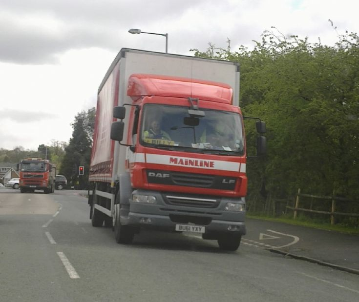 DAF LF lorry of Mainline spotted in Walsall
