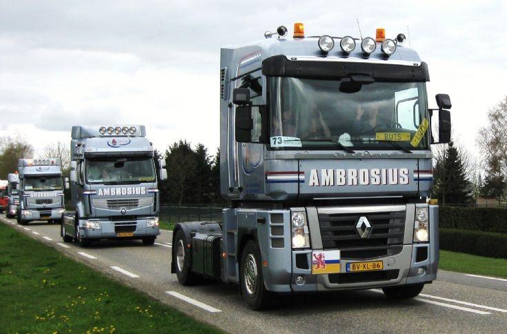 2009 Renault Magnum truck of Ambrosius