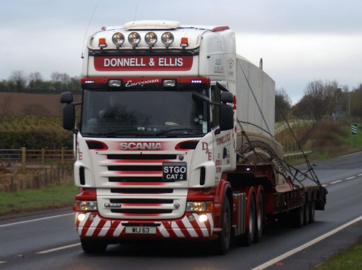 Scania R series.  Donnell and Ellis