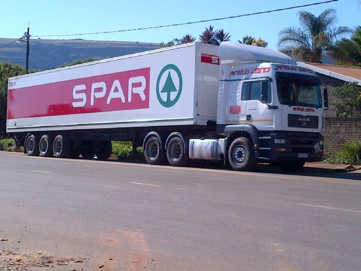Man Tga of SPAR in South Africa