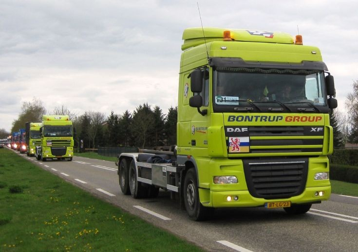 2007 DAF XF Truck, one of several Bontrups