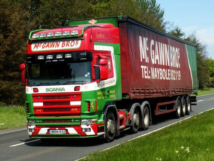 Scania R164 Mc Gawn