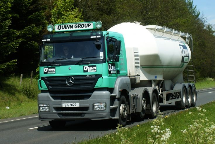 Mercedes-Benz Axor of Quinn Group
