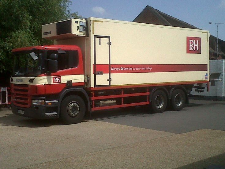 Scania P280 chilled unit