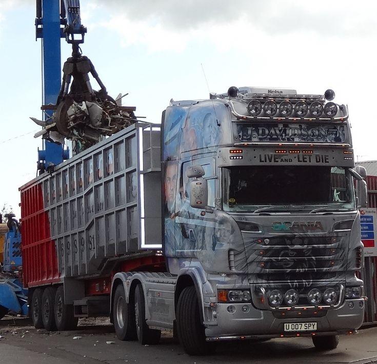 Scania R series - scrap cargo