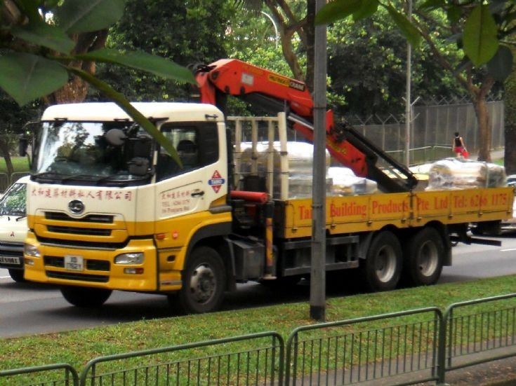 Nissan Diesel UD Quon UD390WM Series Cargo Truck Taiho Building Products Pte Ltd