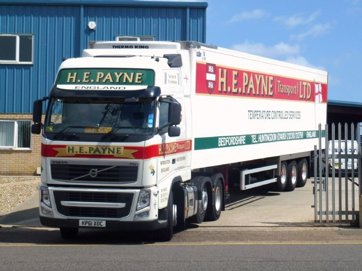 Volvo FH12 spotted in Great Yarmouth