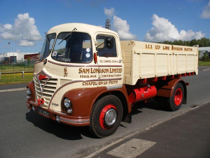 Foden at old Leyland Test Track