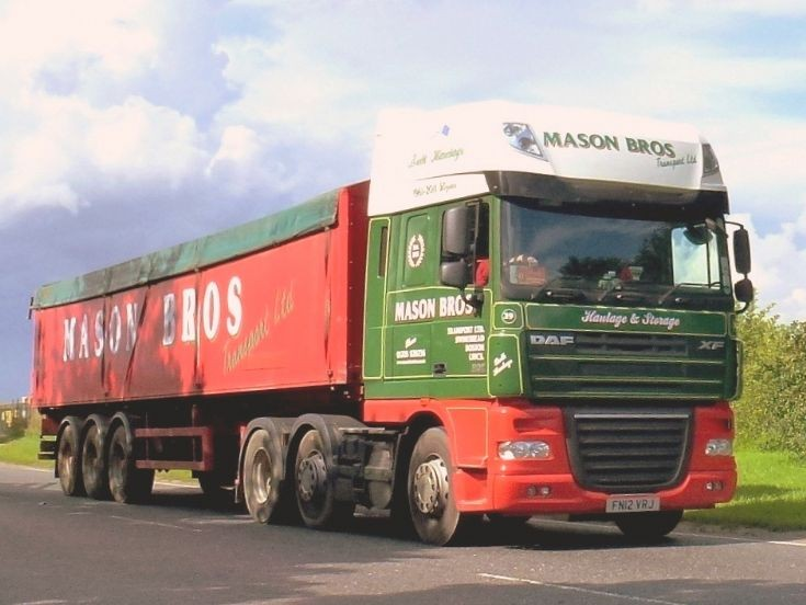 DAF XF105 near Norwich