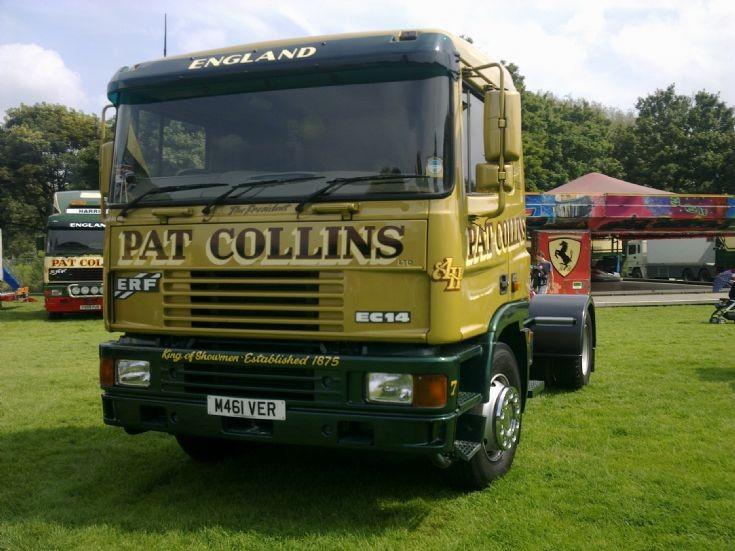 ERF EC14 of Pat Collins Fun Fair