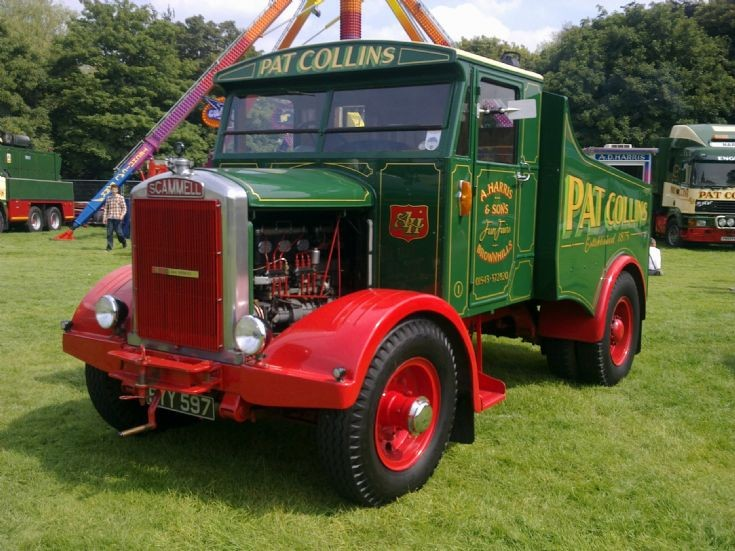 Vintage Scammell of Pat Collins
