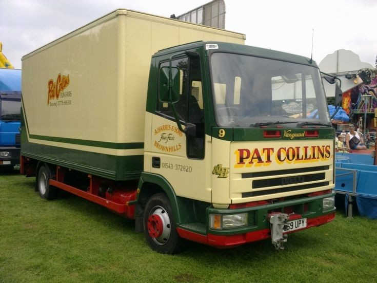 IVECO lorry of Pat Collins