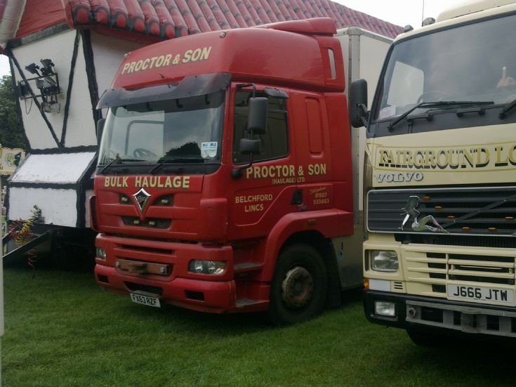 Foden and Volvo at Walsall Town Show