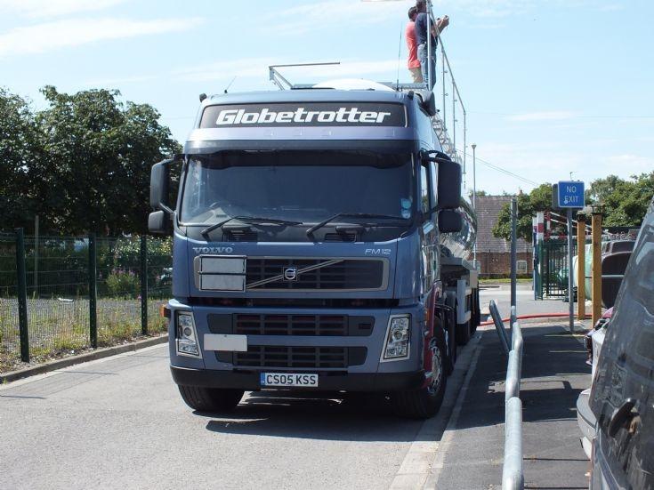 Volvo FM12 Globetrotter in the UK