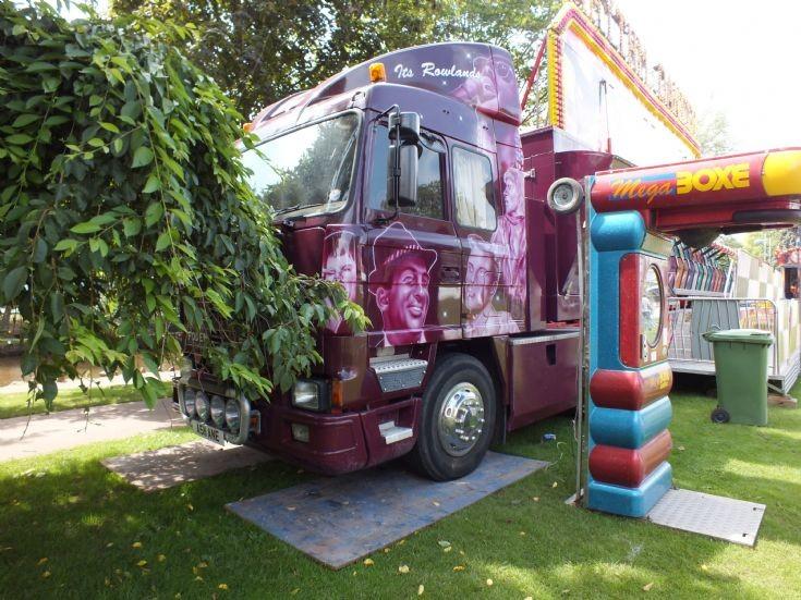 Foden 4375 truck in Dawlish, Devon
