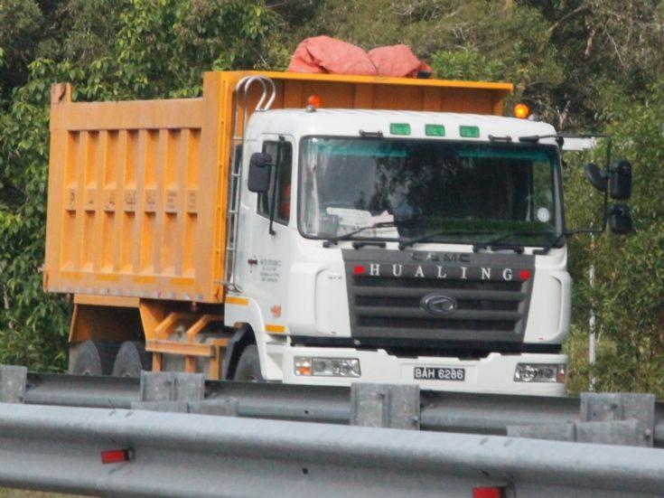 CAMC  dump truck