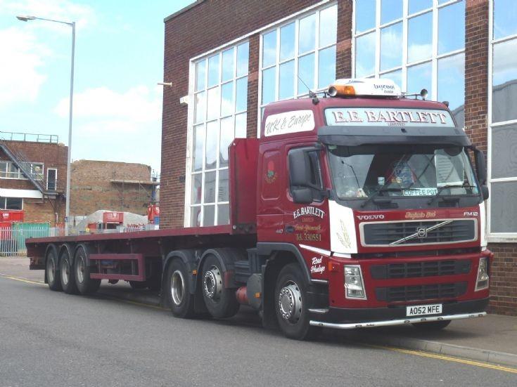 Volvo FM12 440 lorry of E.E. Bartlett