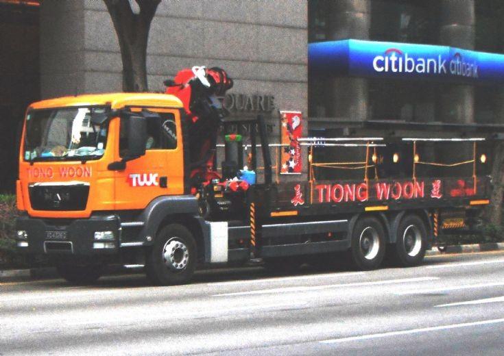 MAN TGS Series Cargo Truck Tiong Woon Crane Pte Ltd
