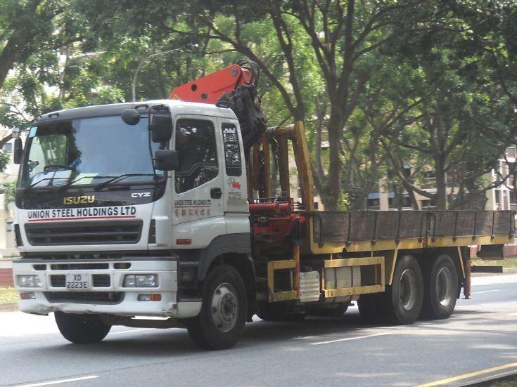 Isuzu Giga CYZ Series Cargo Truck Union Steel Holdings Limited