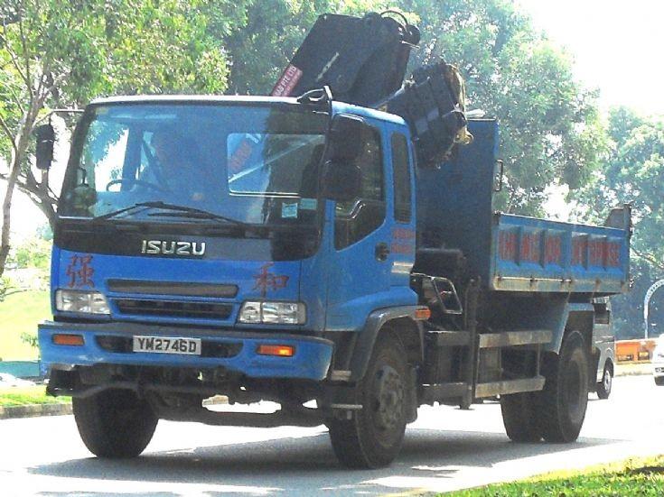 Isuzu Forward FTR Series Dump Truck Khiang Hor Enterprise
