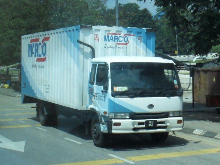 Nissan Diesel UD Condor MK251KH Series Box Truck MARCO