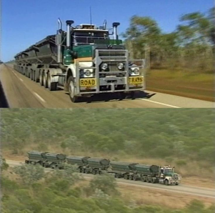 Western Star 6 Trailer Road Train