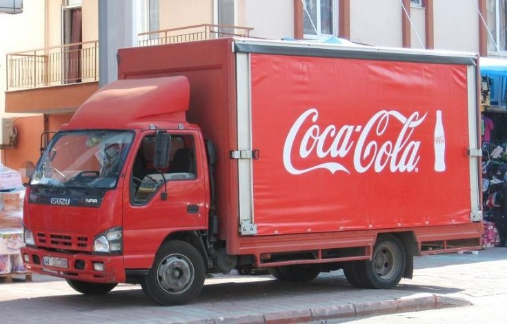 Isuzu NPR Coca-Cola in Turkey
