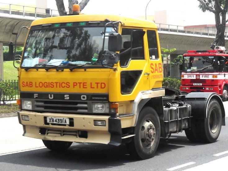 Mitsubishi Fuso Great FP413 Series Tractor SAB Logistics Pte Ltd