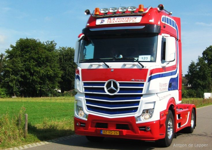 2012 new Mercedes-Benz Actros