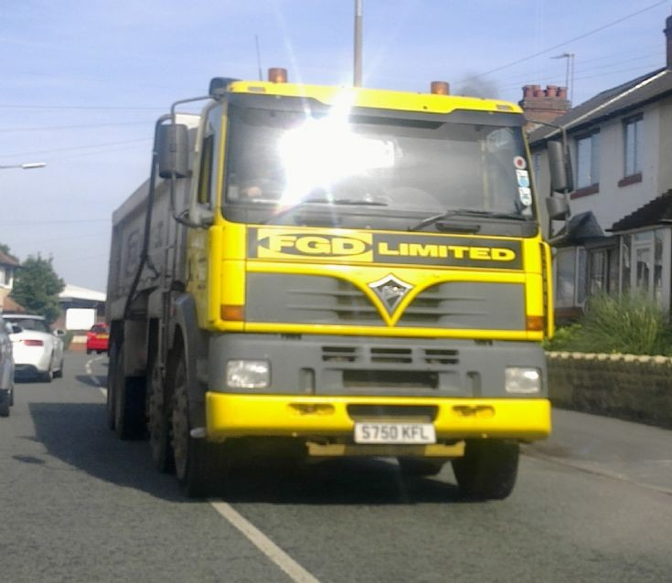 Foden Alpha on the road