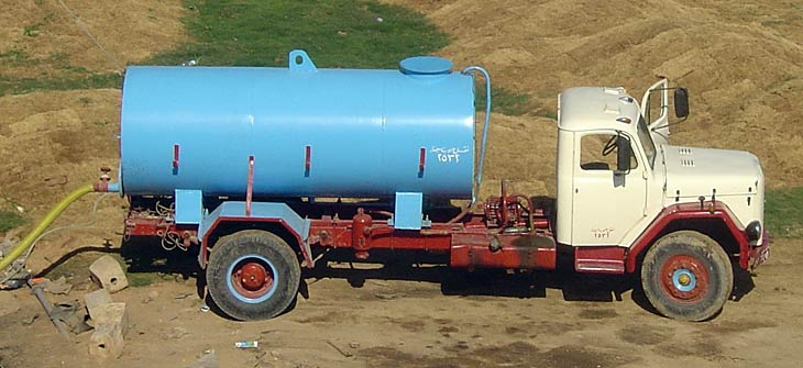 Magirus Deutz Water Tanker, Egypt