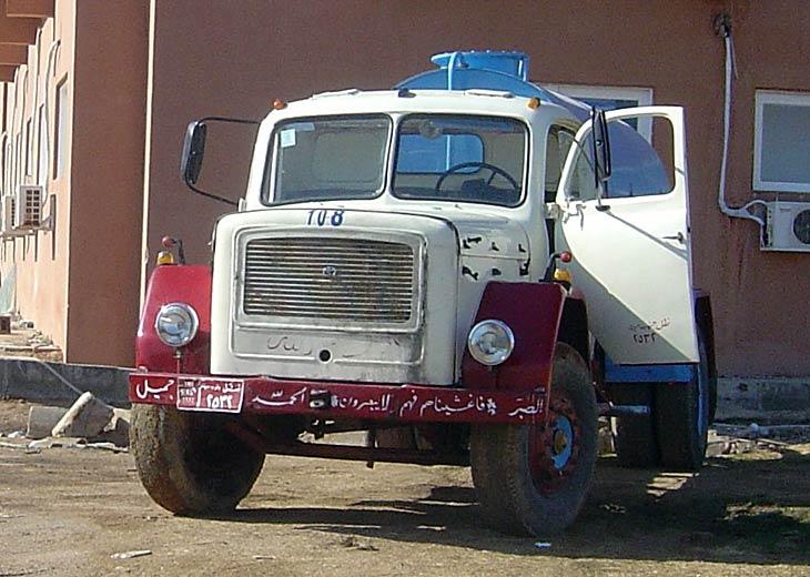Photo of Magirus Deutz Water Tanker in Egypt