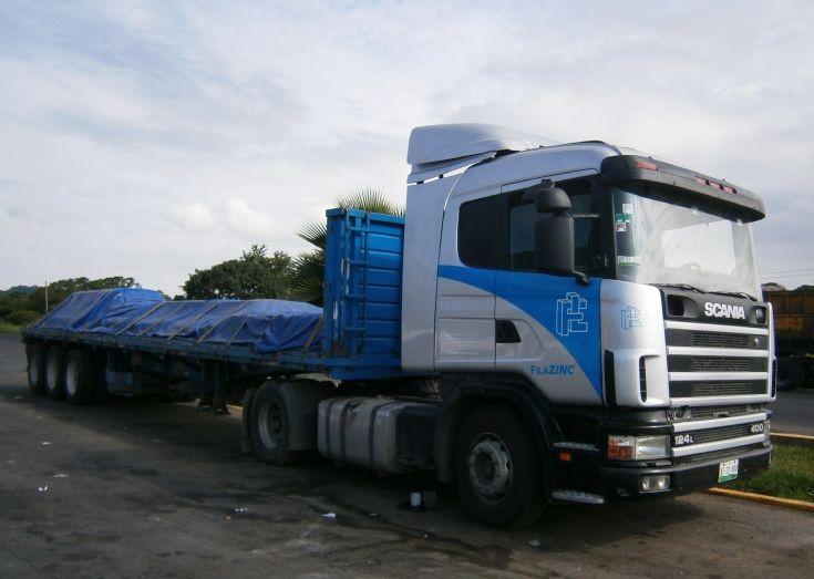 Scania R124L  400