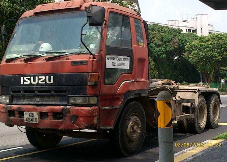 Isuzu Giga CXZ 71JD Series Hook Lift Truck Hwa Lian Heng Co. Pte Ltd