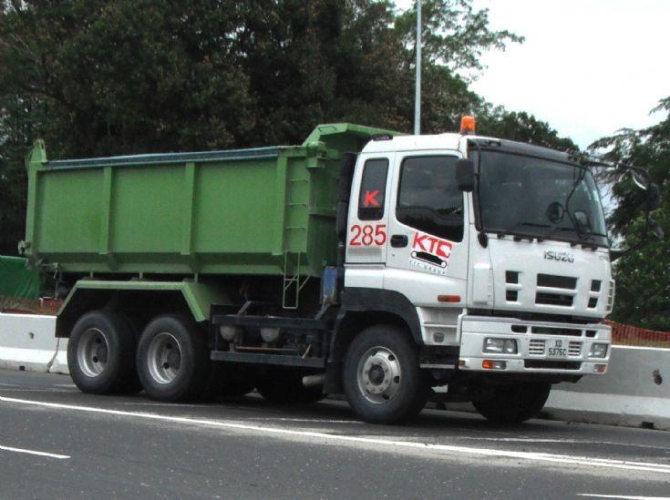 Isuzu Giga CYZ Series Dump Truck Kok Tong Construction (KTC)
