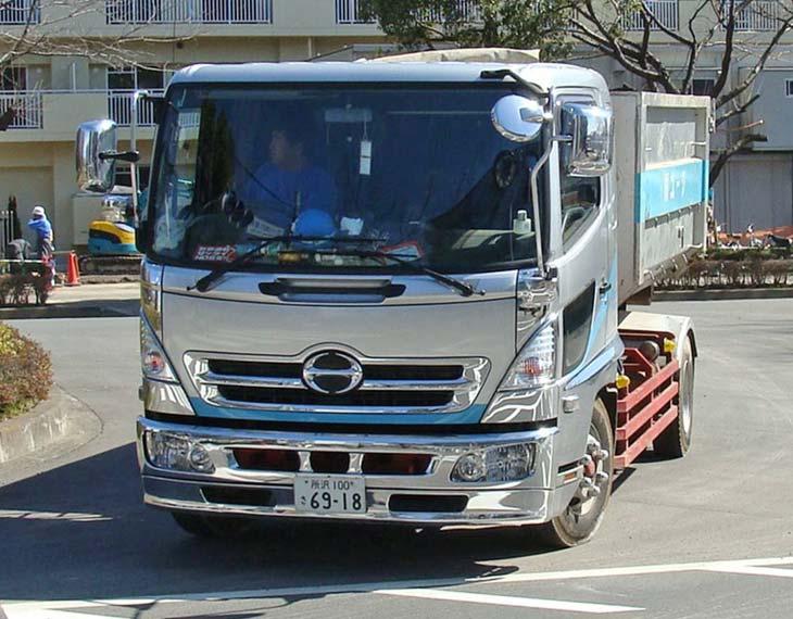 Hino Ranger Construction Truck, Tokyo, Japan