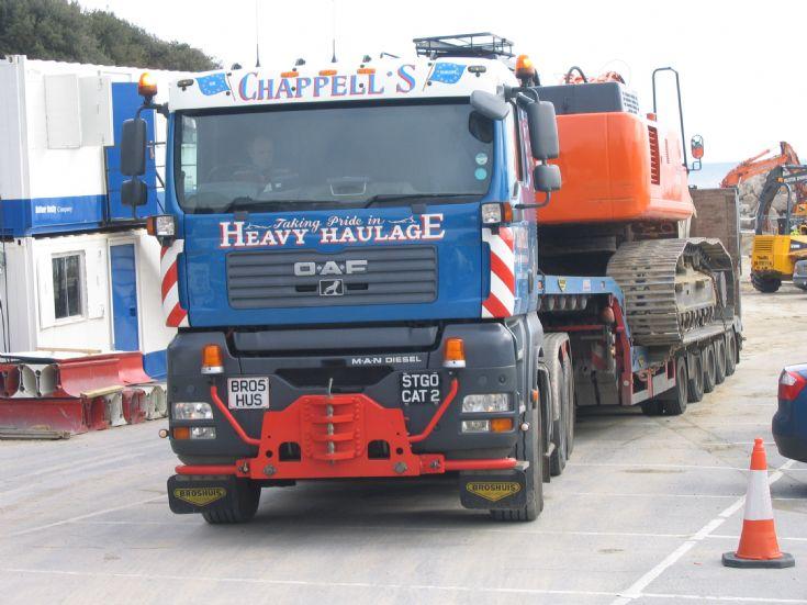 Oaf Heavy Haulage unit Chappells of Stubbington