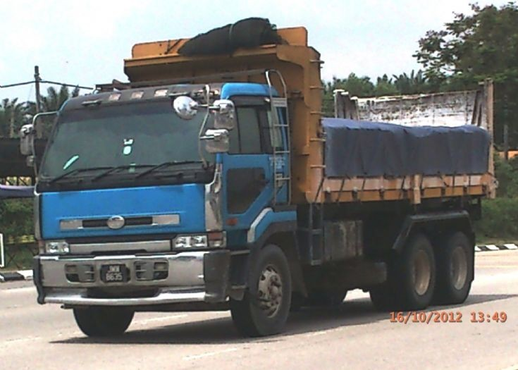 Nissan Diesel UD Big Thumb CD53 Series Dump Truck